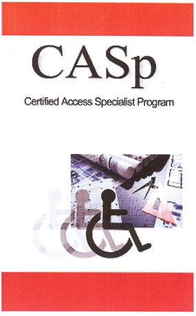 CASp Certified Access Specialist Logo - Gilda Puente-Peters Served as a Subject Matter Expert for the Development of the CASp Program