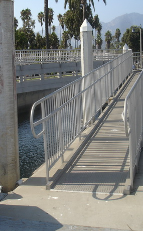 City of Santa Barbara Marina Access Ramp - GPPA Architects ADA Transition Plan